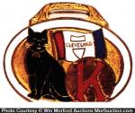 Black Cat Watch Fob