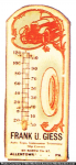 Frank Giess Auto Thermometer