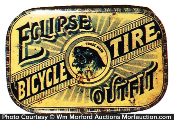 Eclipse Bicycle Tire Outfit Repair Tin