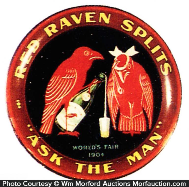 Red Raven Splits Tip Tray