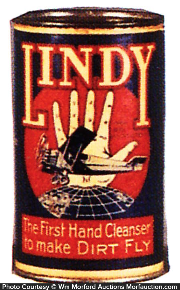 Lindy Hand Cleanser Tin