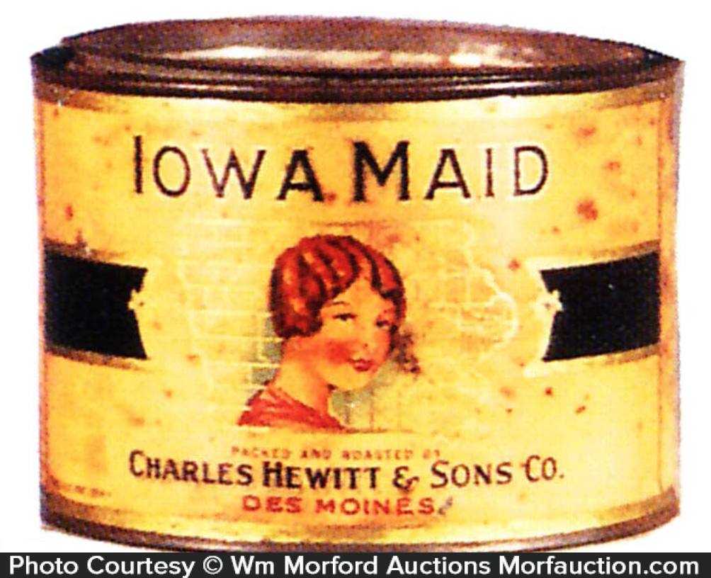Iowa Maid Coffee Can