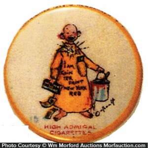 Yellow Kid High Admiral Pin