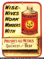 Solarine Polish Match Holder
