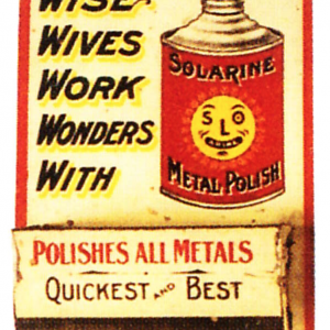 Solarine Polish Match Holder