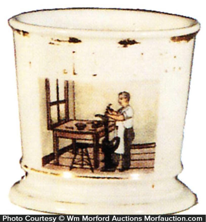 Cobbler Shaving Mug