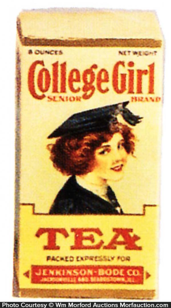 College Girl Tea Tin