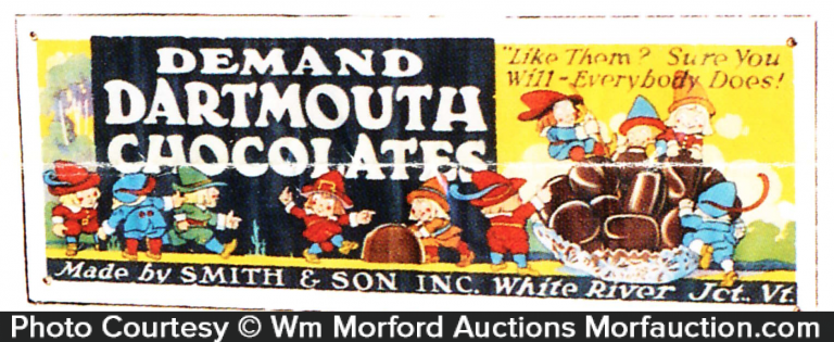 Dartmouth's Chocolates Banner
