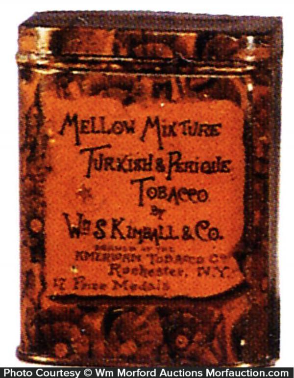 Kimball Mellow Mixture Tobacco Tin