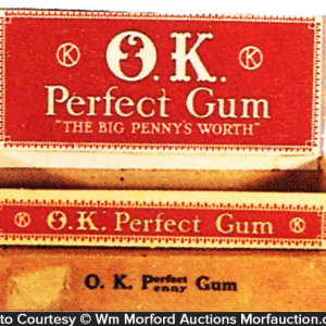 O.K. Perfect Gum Box