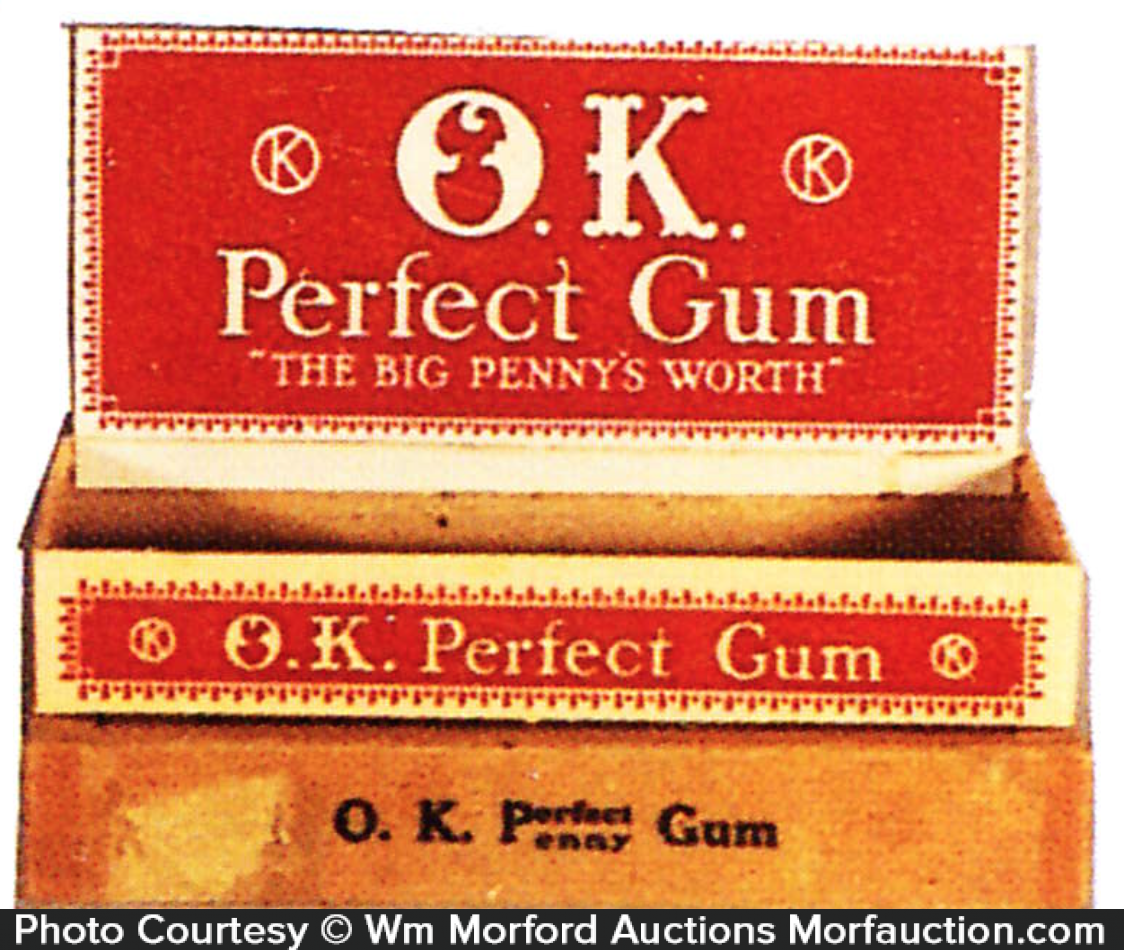 O.K. Perfect Gum Box