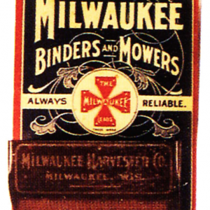 Milwaukee Binders and Mowers Match Holder