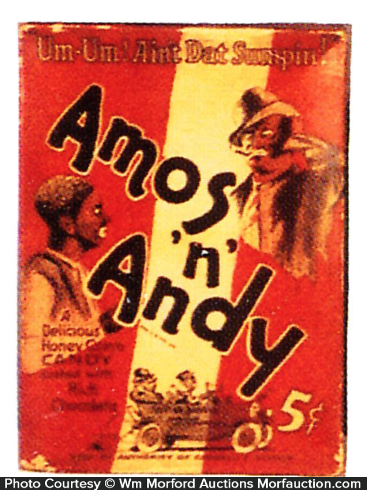 Amos 'N' andy Candy Box