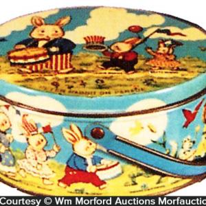 Peter Rabbit Candy Tin