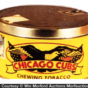 Chicago Cubs Tobacco Tin