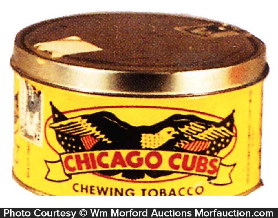 Chicago Cubs Tobacco Tin