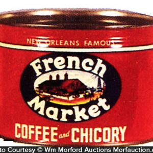 French Market Coffee Can