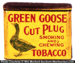 Green Goose Tobacco Tin
