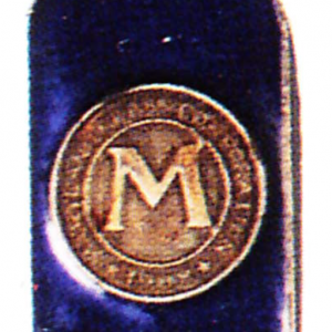 Maryland Glass Badge