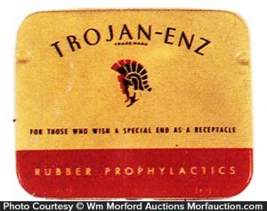 Trojan-Enz Condom Tin