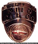 Millo Oil Company Badge