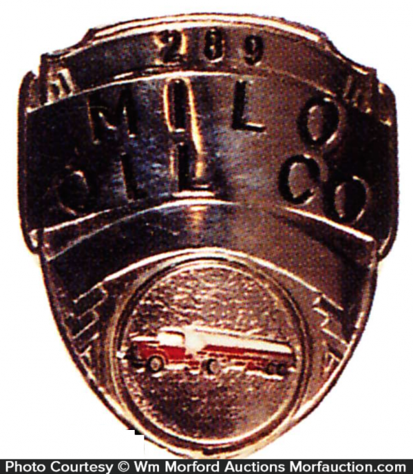 Millo Oil Company Badge