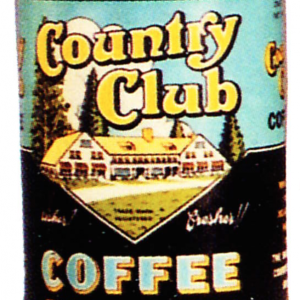 Country Club Coffee Tin