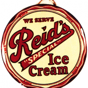 Reid's Ice Cream Sign