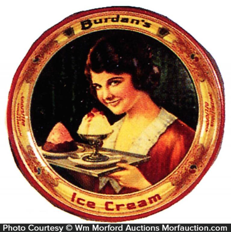 Borden's Ice Cream Tray