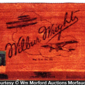 Wilbur Wright Cigar Box