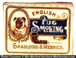 English Pug Tobacco Tin