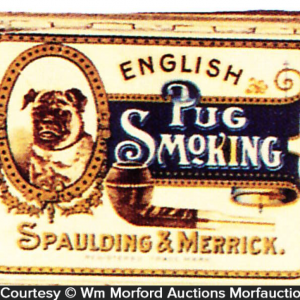 English Pug Tobacco Tin