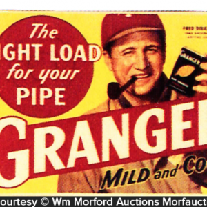 Granger Tobacco Baseball Sign