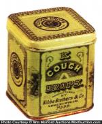 Kibbe Cough Drop Sample Tin
