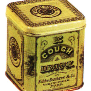 Kibbe Cough Drop Sample Tin