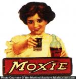 Moxie Die-Cut Sign