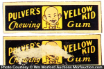 Yellow Kid Gum Wrapper