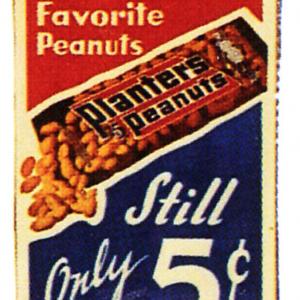 Planters America's Favorite Peanuts Sign