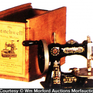 Miniature Stitchwell Sewing Machine