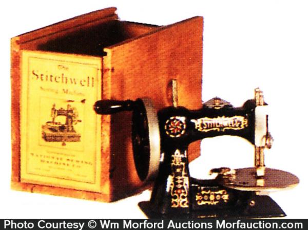 Miniature Stitchwell Sewing Machine