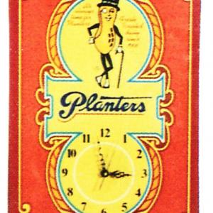 Planters Clock