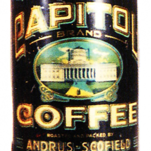 Capitol Coffee Can
