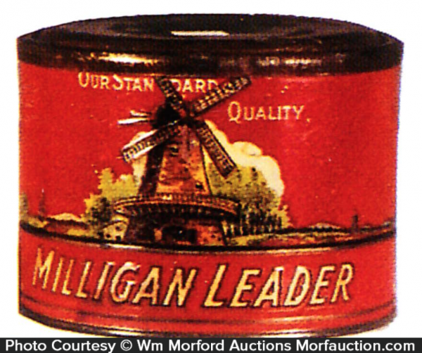 Milligan Leader Coffee Can