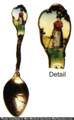 Victorian Golf Spoon
