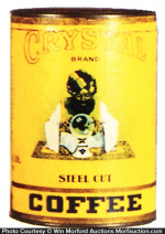 Crystal Coffee Can