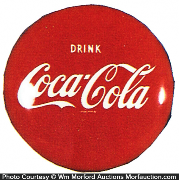 Coke Button Sign