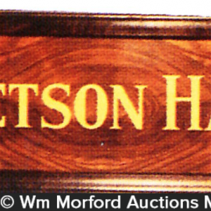 Stetson Hats Sign