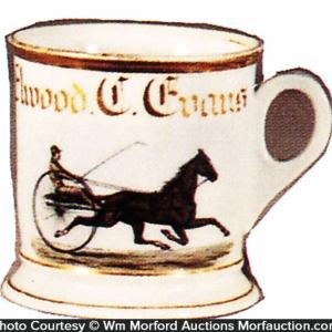 Race Horse Shaving Mug