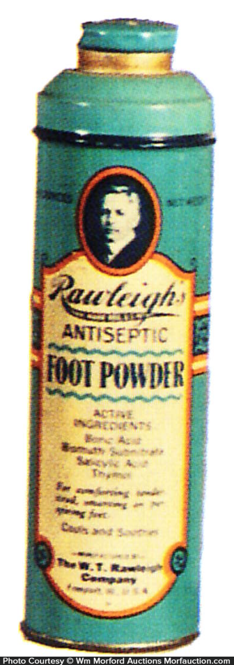 Rawleigh Foot Powder Tin