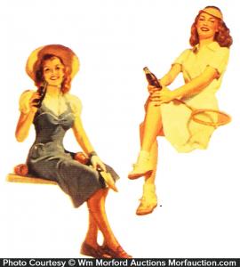 1940's Coca-Cola Girls